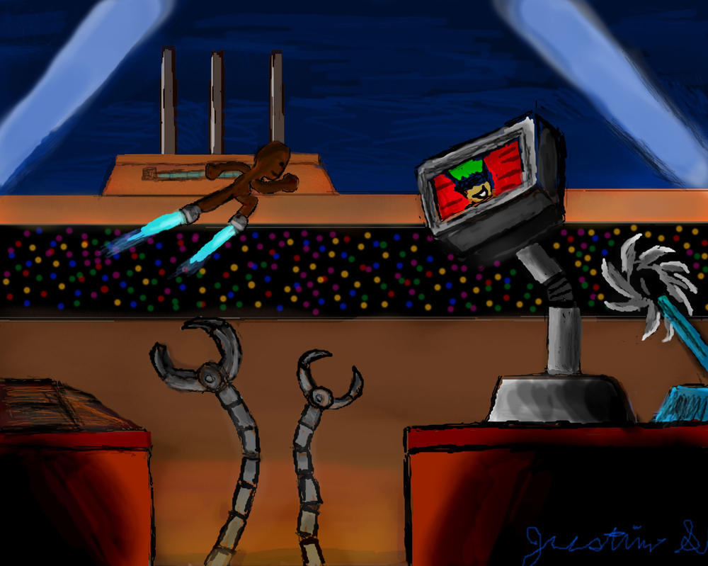 Cybernetic Force Concept 5 (LBP3 Project) TL by JustinArt87