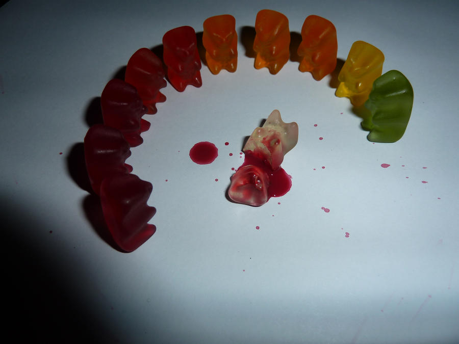 how to make gummy bears not sticky