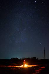 Buscando estrellas by chronos-drako