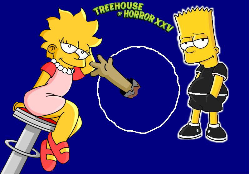 Simpsons Treehouse Of Horror Xxv Part - 32: Treehouse Of Horror XXV 3 By KatieandHelen ...