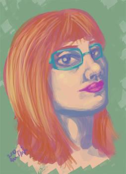 Self-Portrait, Digital