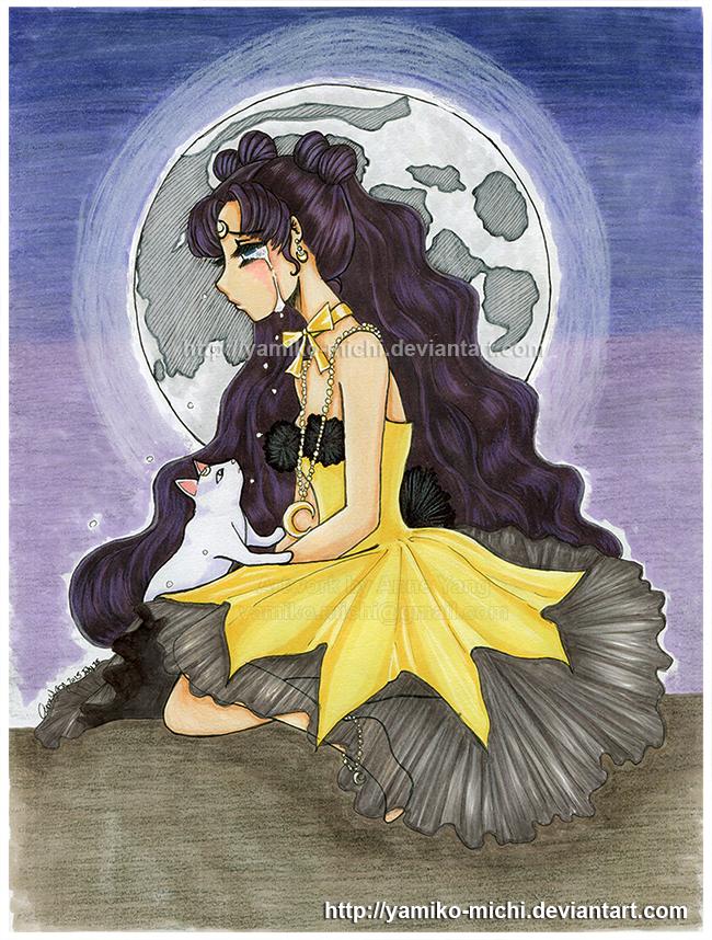 Human Luna by yamiko-michi