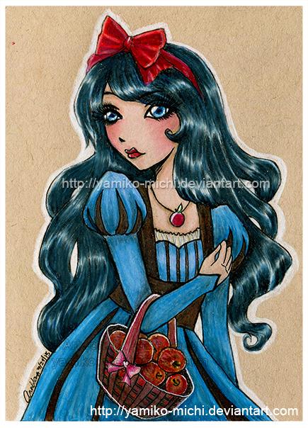 Snow White by yamiko-michi