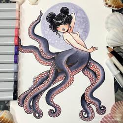 Octomaid by yamiko-michi