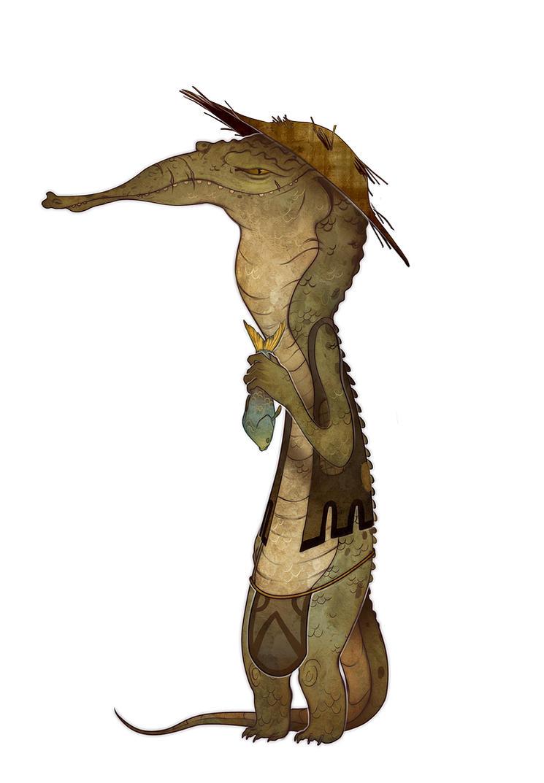 Crocodilia by Andoledius