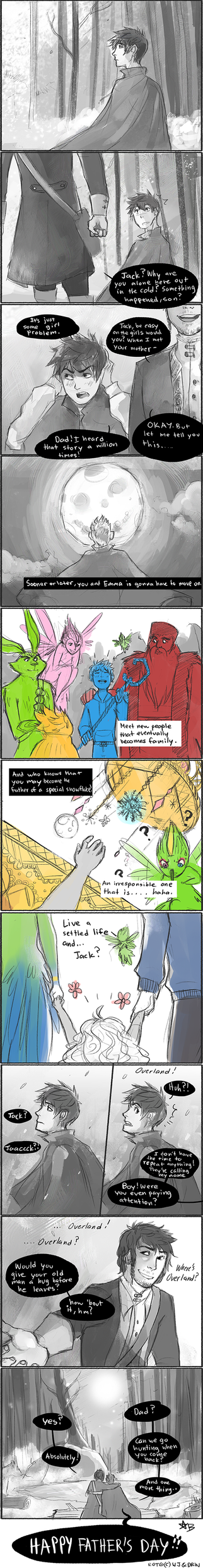 ROTG - Happy Father's Day by Arcana-break