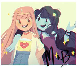 M + B