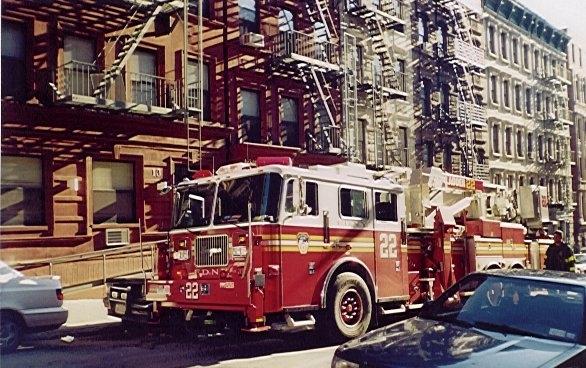New York Fire Engine