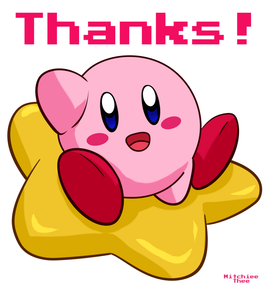 Kirby - Thanks banner