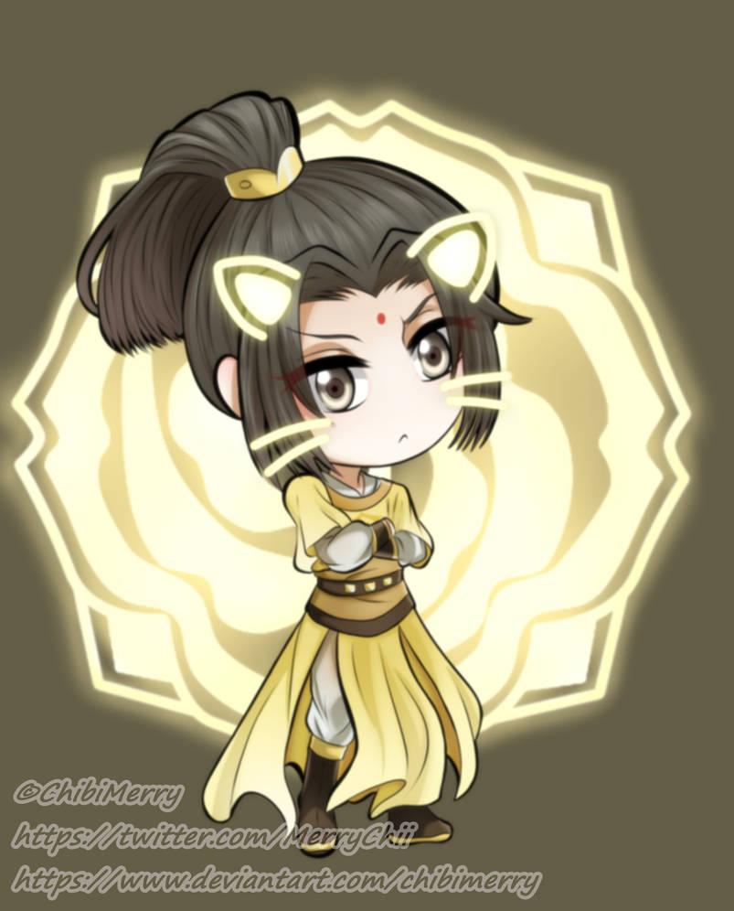Mo Dao Zu Shi Fanart] Chibi Jin ZiXuan by ChibiMerry on