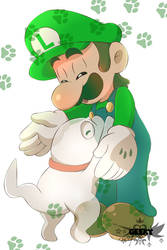 Luigi and Polterpup