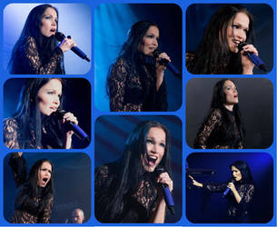 Tarja Live collage by GaeliraGwaelon