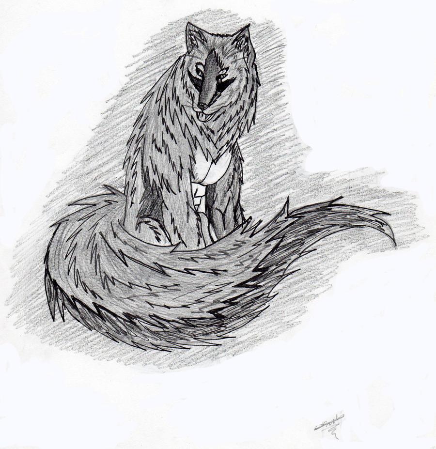 big bad wolf by destroyerwolfellie