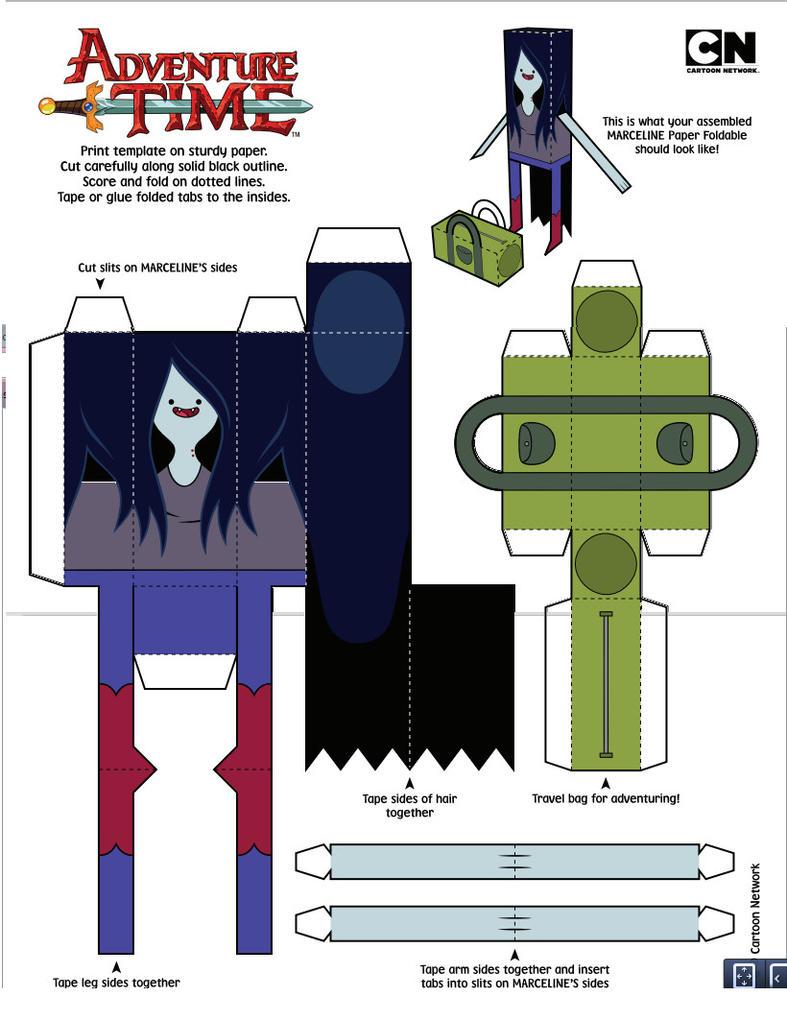 Cubeecraft marceline by staphanysan on DeviantArt