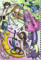 Adventure Time!!! by MadMonaLisa