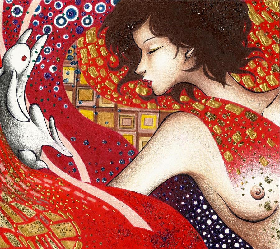 Klimt Girl by MadMonaLisa