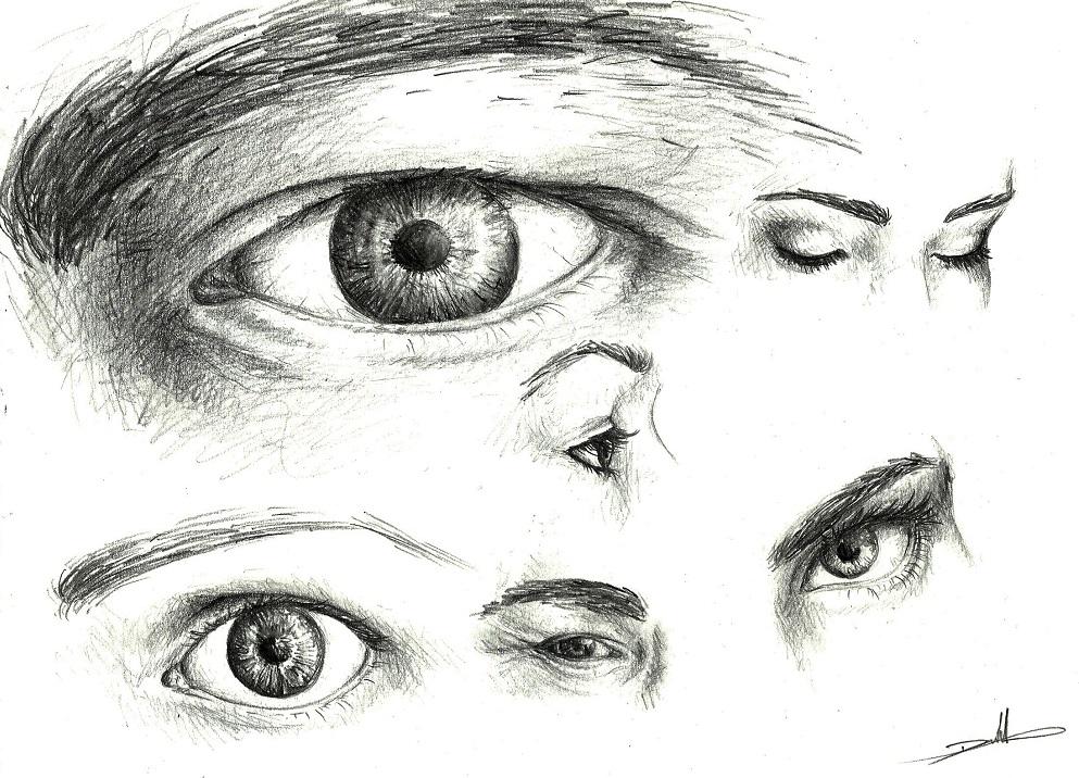 Olhos estudo by MadMonaLisa