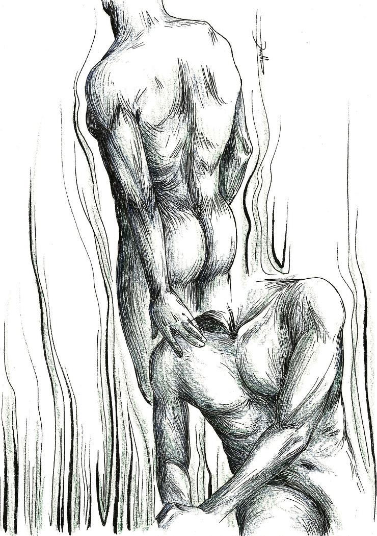 Anatomy - Male 1 by MadMonaLisa