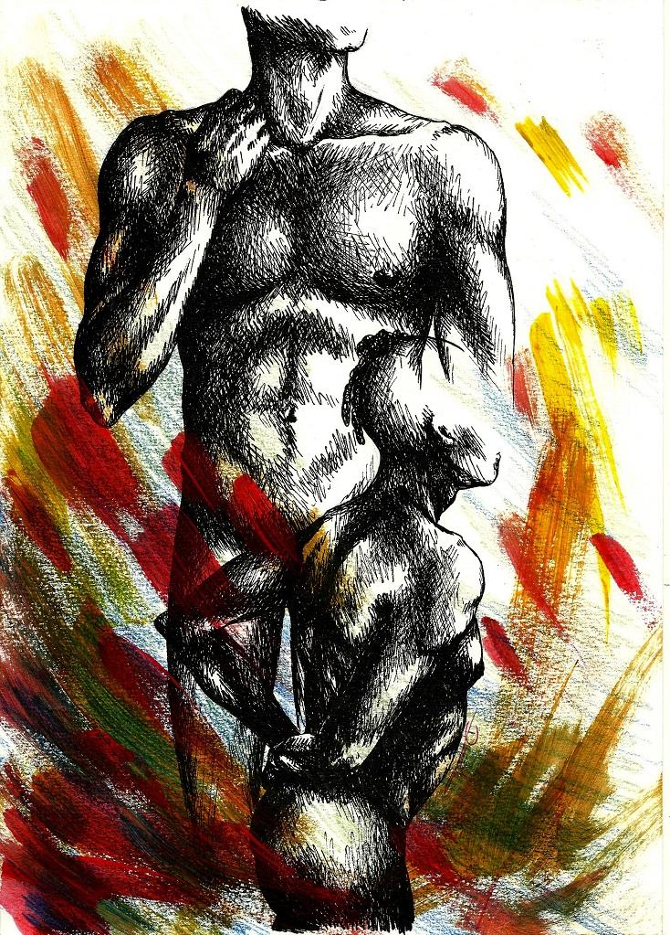 Anatomy - Male 3 by MadMonaLisa