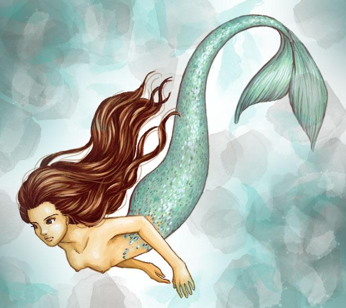 Mermaid - Color by MadMonaLisa