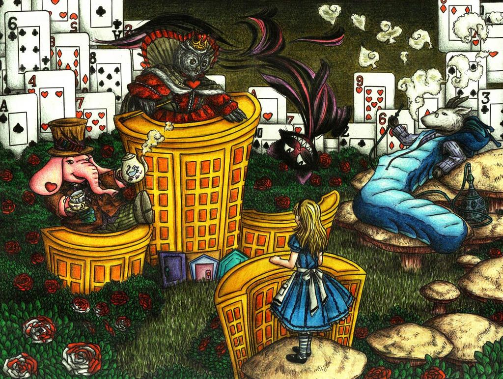 Layout - Alice by MadMonaLisa