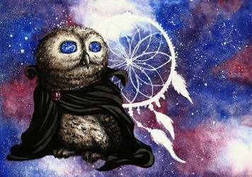 Sandman Little Owl by MadMonaLisa