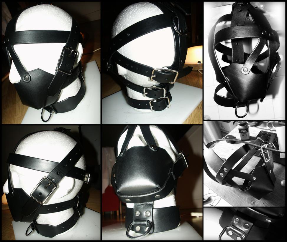 Heavy Leather Muzzle Gag Harness By Jay2u On DeviantArt