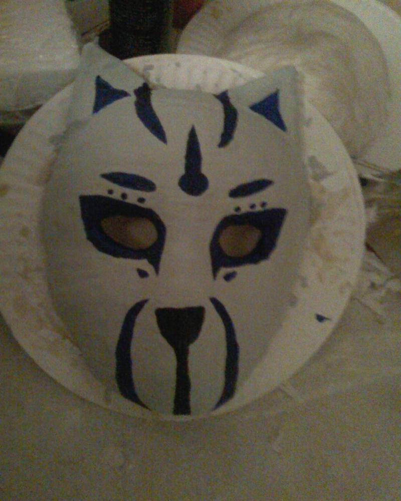 How To Make A Anbu Mask Anbu wolf mask by make-out-How To Make A Anbu Mask