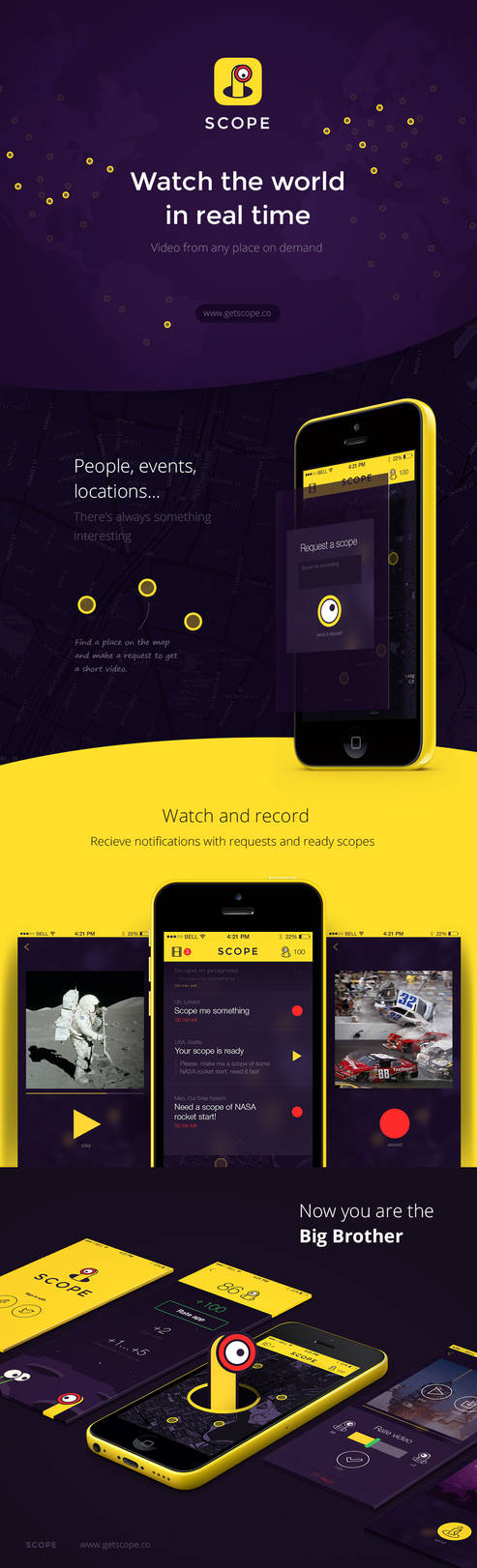 SCOPE - Social Video Messenger by indestudio