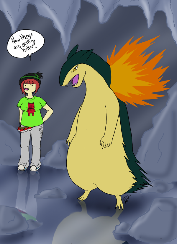 Your Quilava Just Evolved By Issabissabel On Deviantart