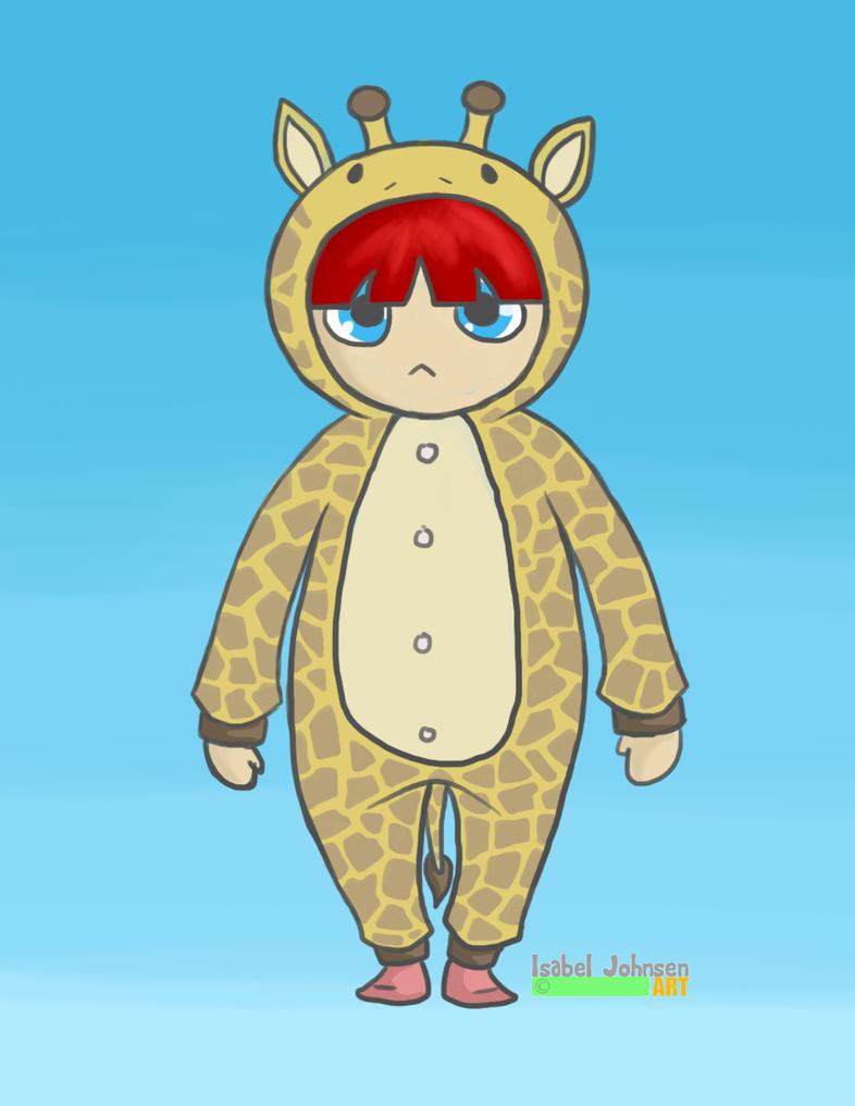 Et Giraffdyr by issabissabel