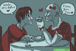 Day 04 - Spideypool OTP CHALLENGE - On a Date