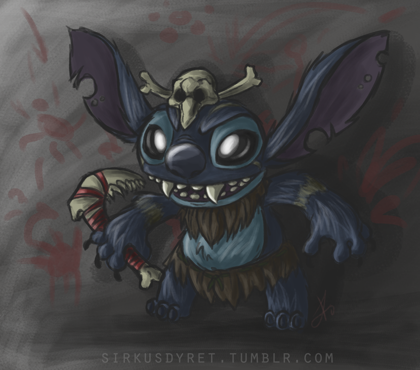 Stitch/Gnar - League of Legends by issabissabel on DeviantArt