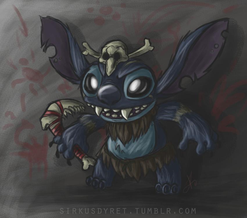Stitch/Gnar - League of Legends by issabissabel on DeviantArt