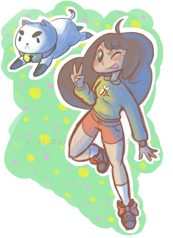 Bee and Puppycat - Gift by issabissabel
