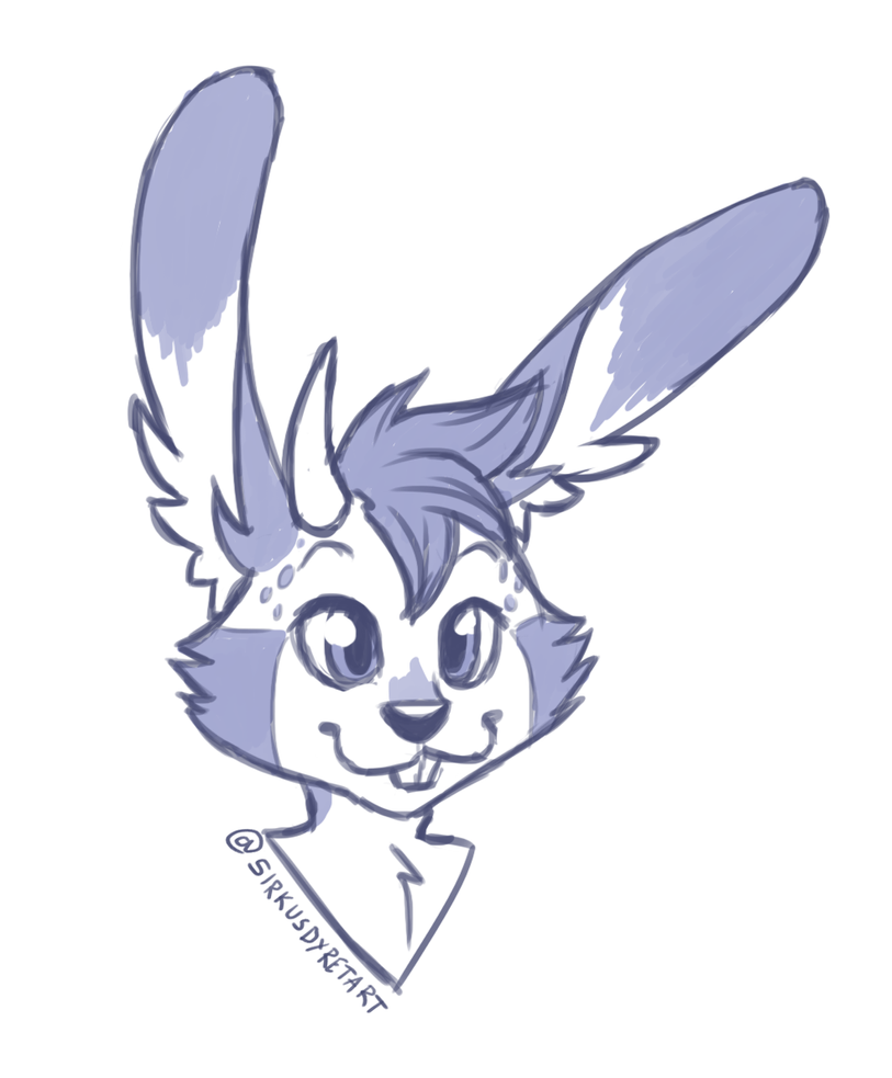 Jackie the Jackalope by issabissabel