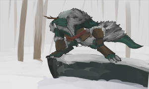 Vidar the Dragonborn Druid