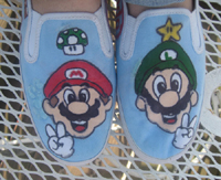 Super Mario Shoe by nellylover