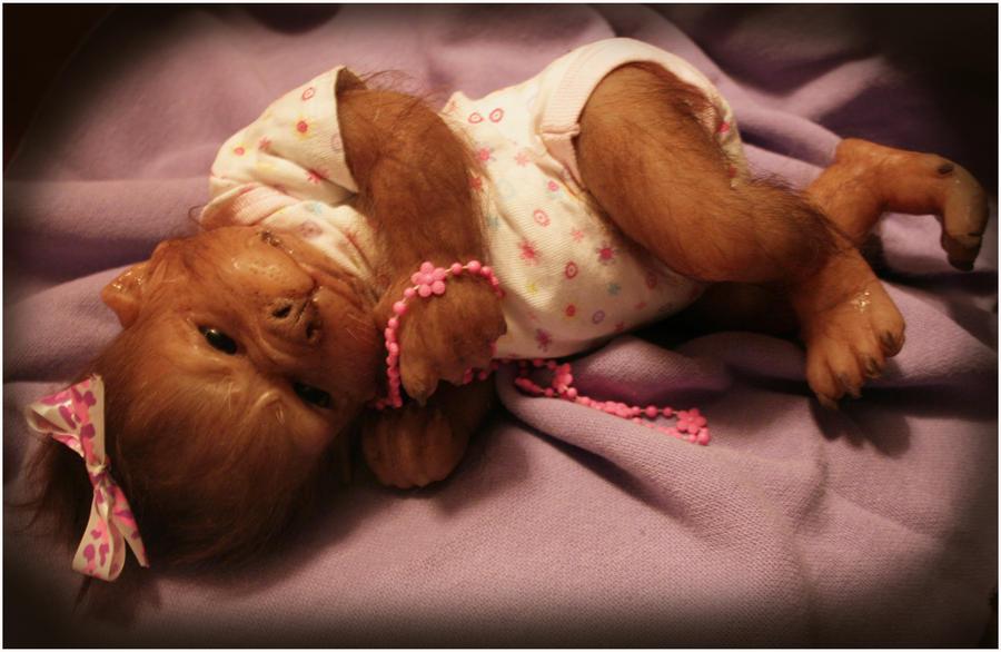 Elora the werewolf baby (WerePups) by WerePups