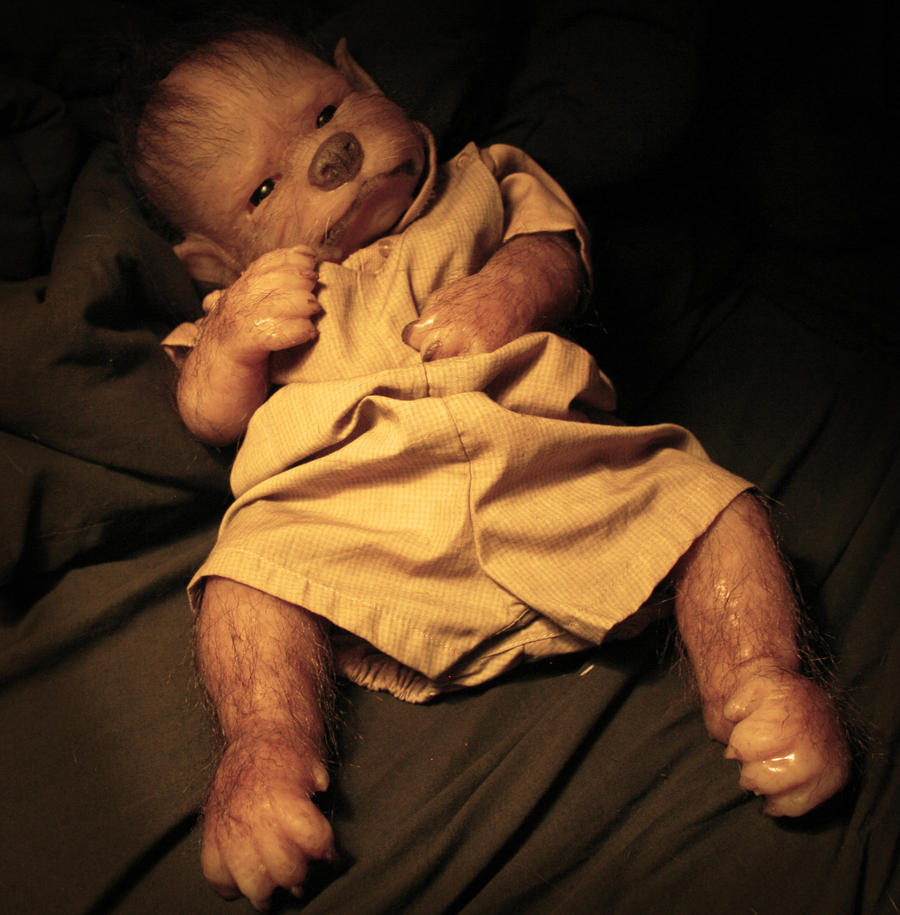 Werewolf Toys For Boys : Custom werewolf baby by werepups on deviantart