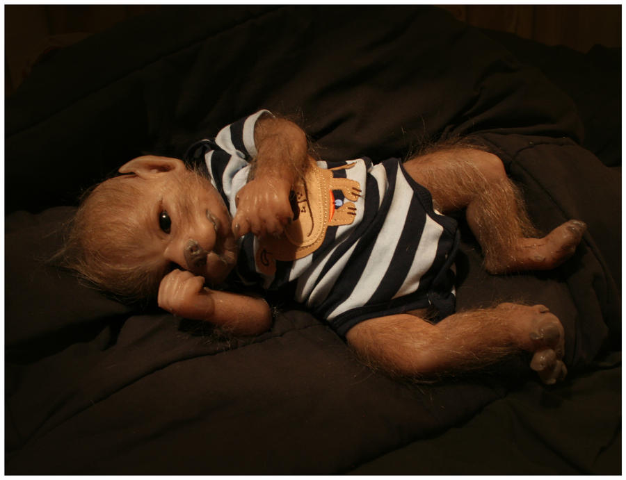 Werewolf Toys For Boys : David the baby werewolf by werepups on deviantart