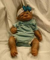 Esile the WerePup - werewolf baby girl by WerePups