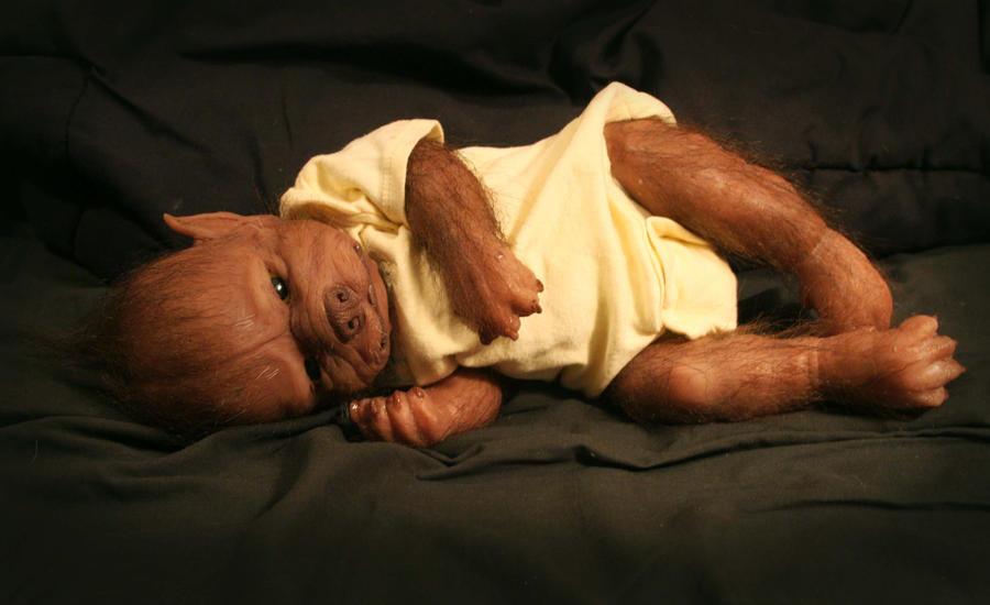 WerePups werewolf baby by WerePups