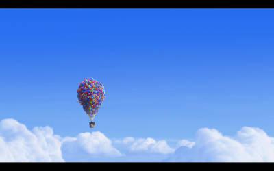 Up - Balloons - Pixar by DidyZ