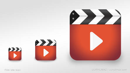 Film Izle Iphone App Icon by uuryilmaz