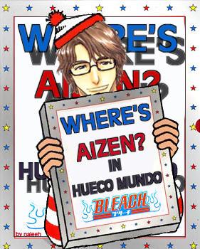 [Character] Aizen Sōsuke WHERE__S_AIZEN__IN_HUECO_MUNDO_by_Naleeh