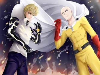 One Punch Man by Simona018