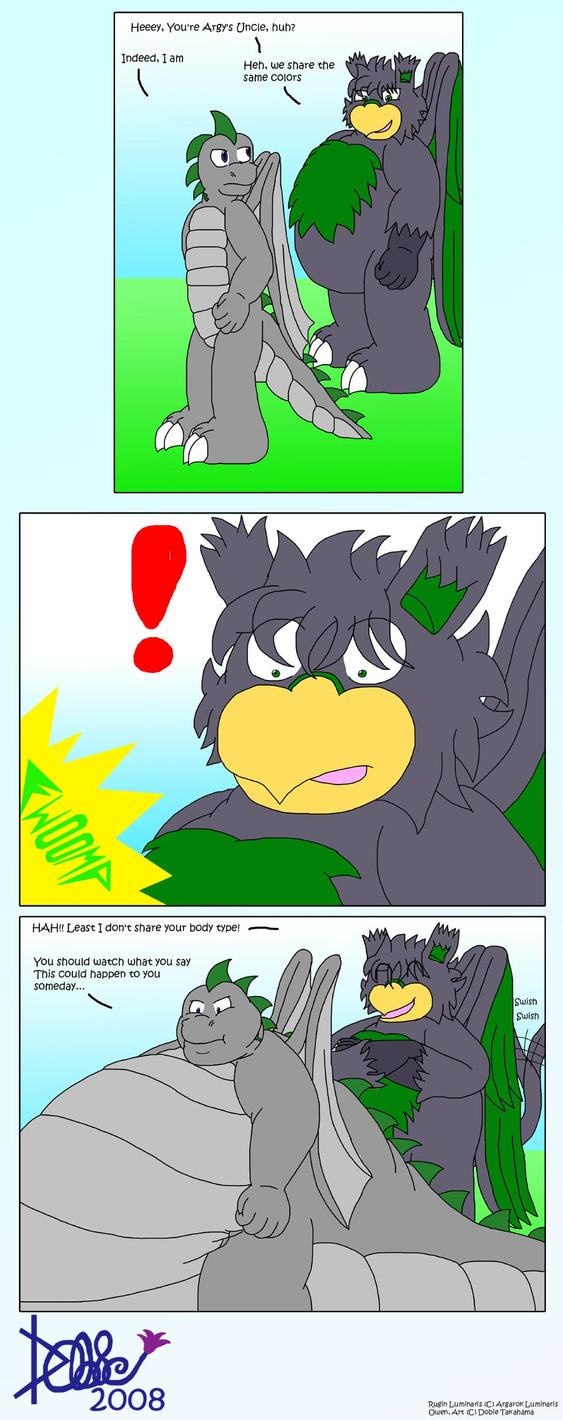 +Comic+ Sudden Fwoompage by Dobie-Takahama