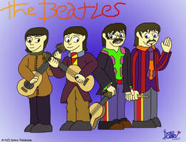 +Yellow Submarine Beatles+ by Dobie-Takahama