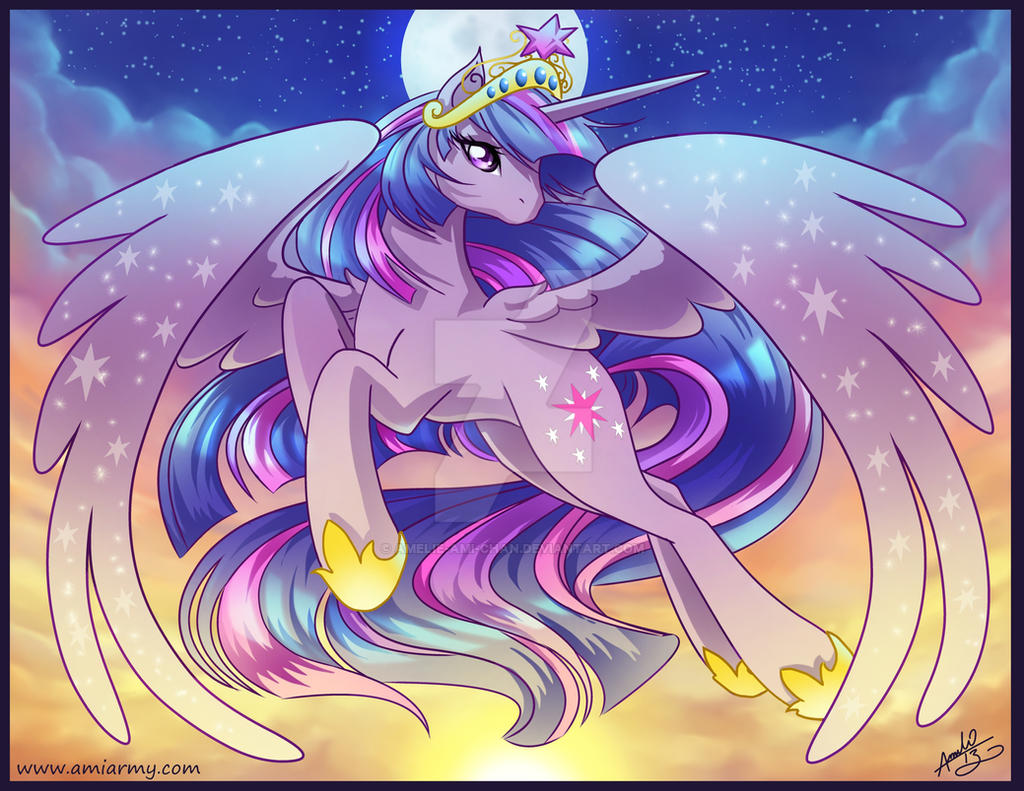 Princess Twilight Sparkle by Amelie-ami-chan